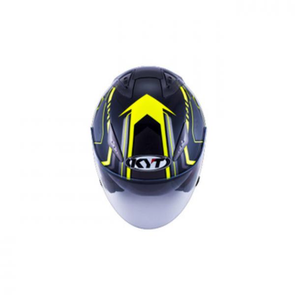 KYT jet helmet Hellcat Arrow