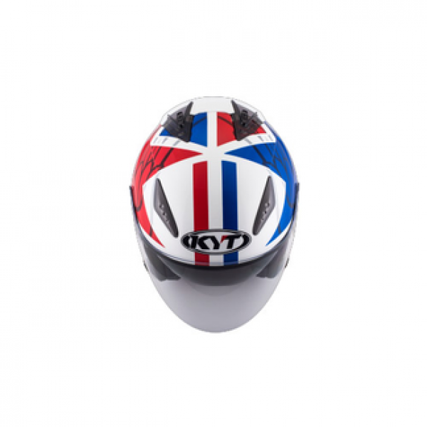 KYT jet helmet Hellcat Star