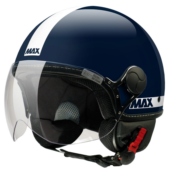 Max jet helmet Power blue