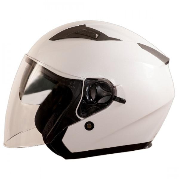 One Jettone jet Helmet white