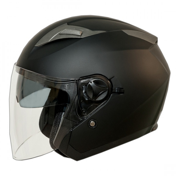 One Jettone jet Helmet matt black