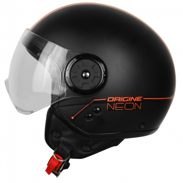 Origine jet helmet Neon Street  black orange