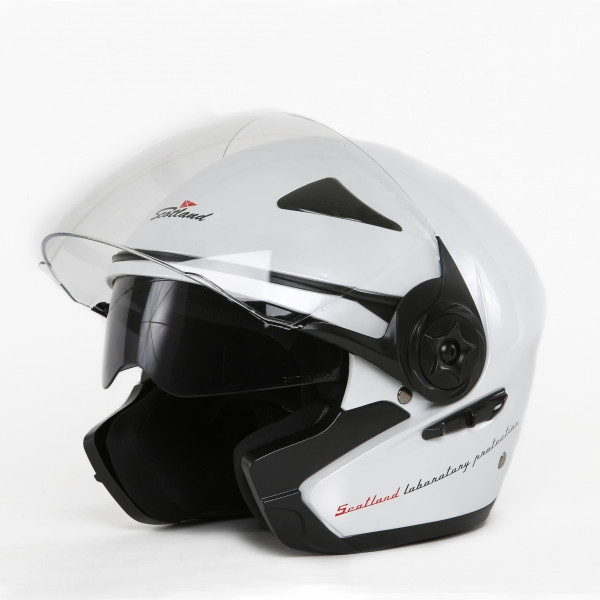 Scotland Force 03-2 jet helmet White