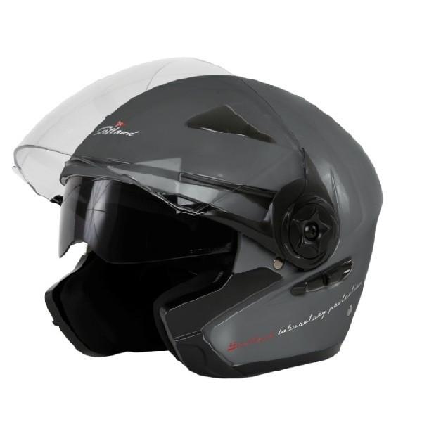 Scotland Force 03-2 jet helmet Titanium