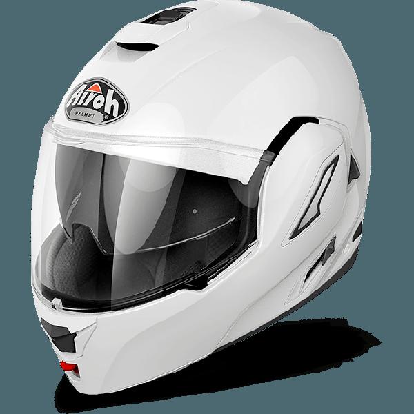 Airoh Rev Antifog Visor  Color flip up helmet white gloss