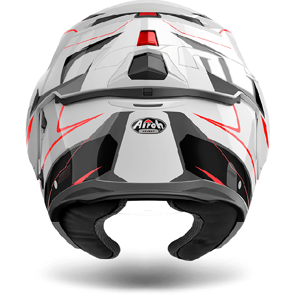 Airoh Rev Antifog Visor  Revolution  flip up helmet white gloss