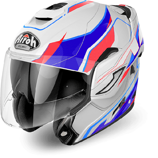 Airoh Rev Antifog Visor  Revolution  flip up helmet gloss