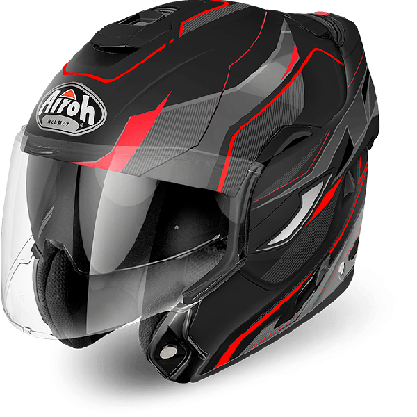 Airoh Rev Antifog Visor  Revolution  flip up helmet black matt