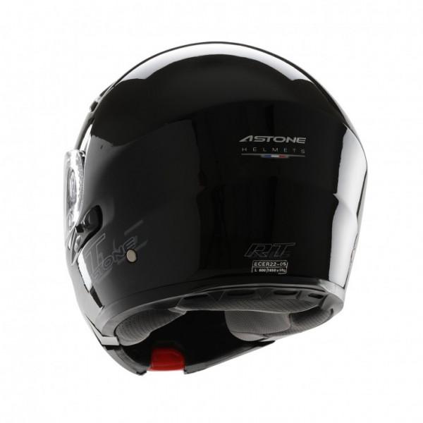 Astone Helmets RT600 Exclusive flip off helmet gloss black