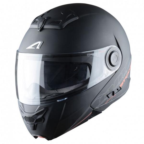 Astone Helmets RT800 Shadow flip off helmet matt black