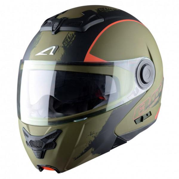 Astone Helmets RT800 Venom flip off helmet Khaki black