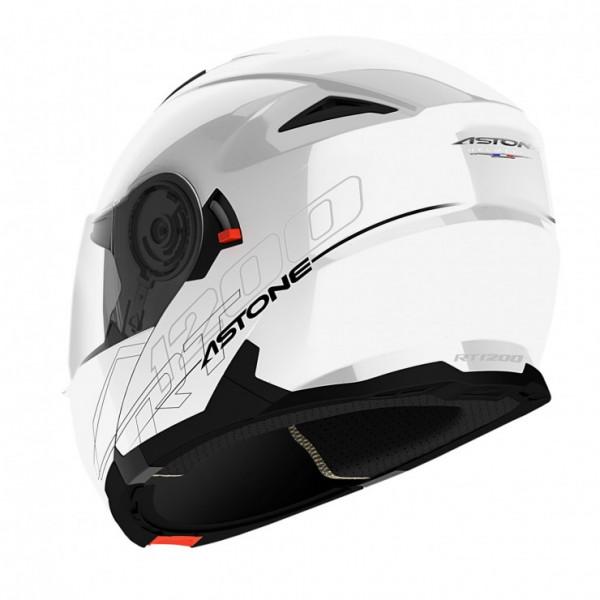 Astone Helmets RT 1200 flip off Helmet Gloss White