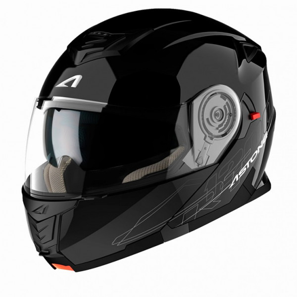 Astone Helmets RT 1200 flip off Helmet gloss black