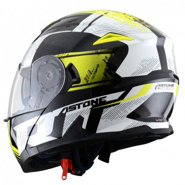 Astone Helmets RT 1200 Vip flip off Helmet fluo Yellow