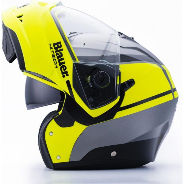 Blauer Sky II modular helmet Titanium Fluo Yellow Matt Black