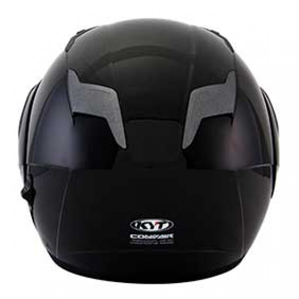 KYT modular helmet Convair Plain black