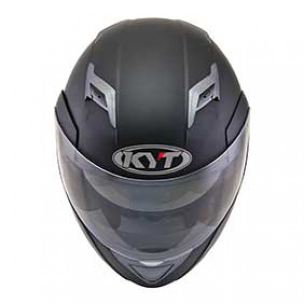 KYT modular helmet Convair Plain matt black