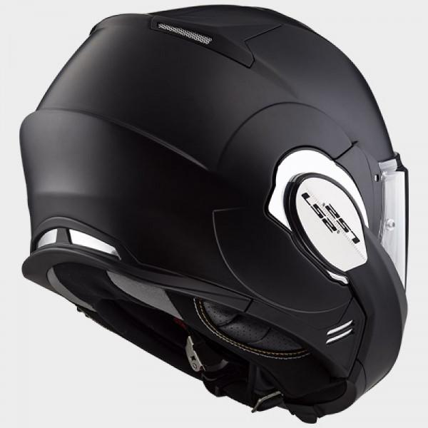 LS2 FF399 Valiant flip off helmet matt Black