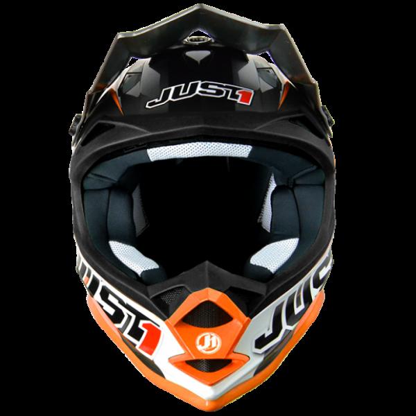 Just1 cross kid helmet J32 Moto X orange