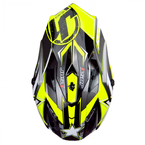 Just1 cross kid helmet J32 Moto X yellow