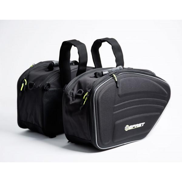 Coppia borse laterali Befast SB900 Nero