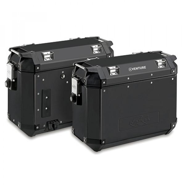Kappa K-Venture pair of Side bags 37lt black