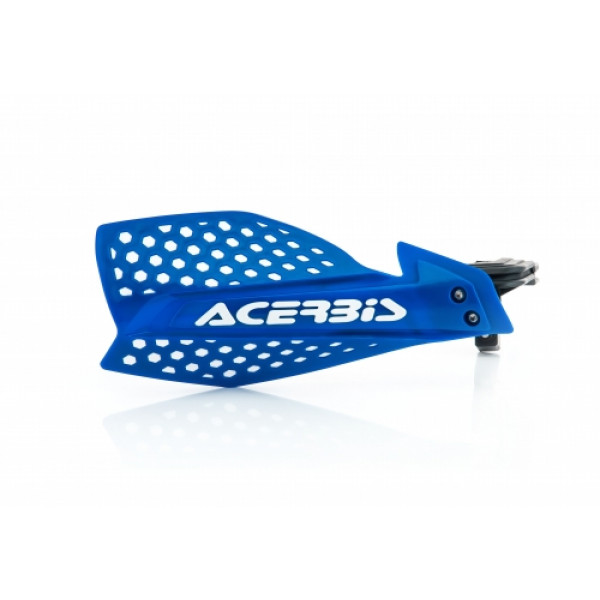 Acerbis pair of handguard cross X-Ultimate blue white