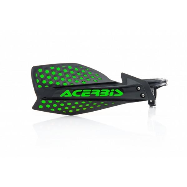 Acerbis pair of handguard cross X-Ultimate black green