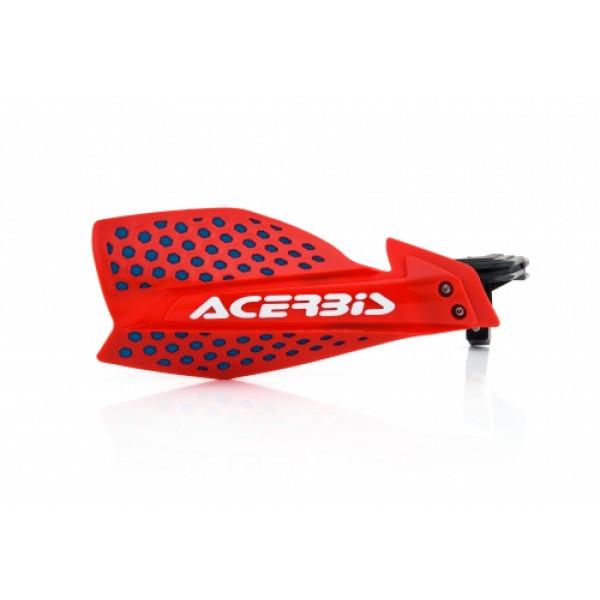 Acerbis pair of handguard cross X-Ultimate red blue