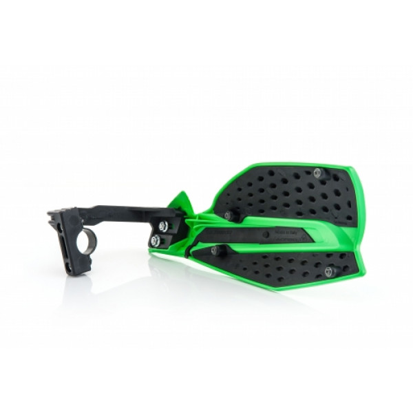 Acerbis pair of handguard cross X-Ultimate green black