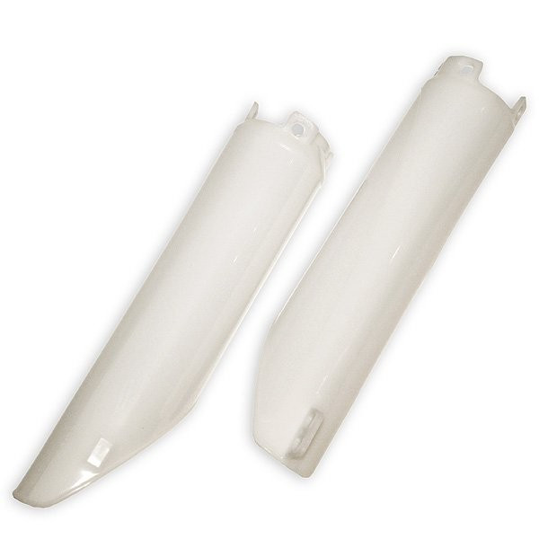 Fork protection for front forks for Honda UFO White