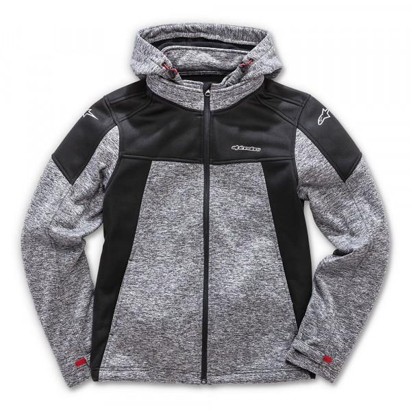 Alpinestars Stratified Charcoal Heater sweatshirt Grey Black