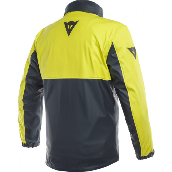 Dainese STORM rain jacket anthracite fluo yellow