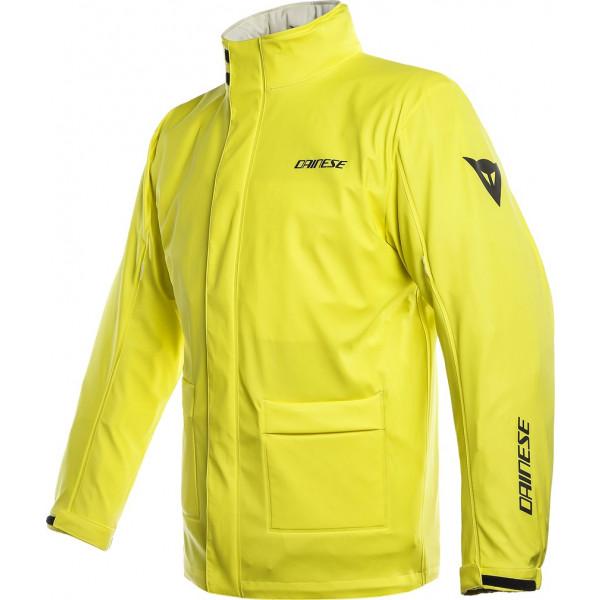 Dainese STORM rain jacket yellow fluo
