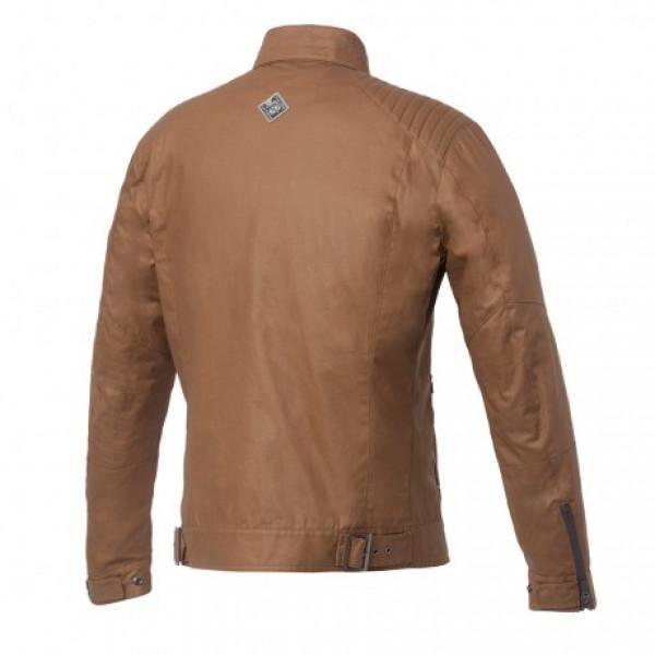 Tucano Urbano Pol short jacket in waxed cotton toffee