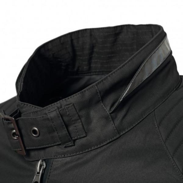 Tucano Urbano Pol short jacket in waxed cotton black