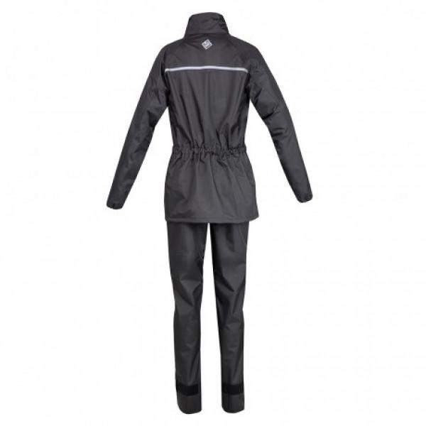 Tucano Urbano Set Diluvio Easy waterproof jacket and trousera black