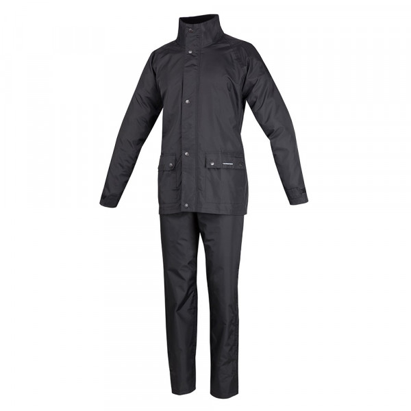 Tucano Urbano waterproog jacket and trousers set Diluvio Plus black