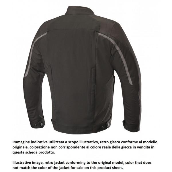 Alpinestars SPARTAN motorcycle jacket teak black