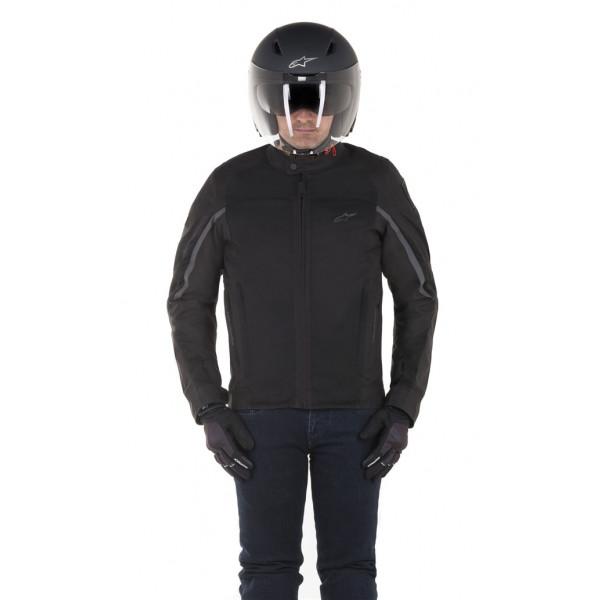 Alpinestars SPARTAN motorcycle jacket black black