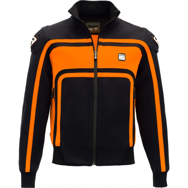 Blauer Easy Rider jacket Black Orange