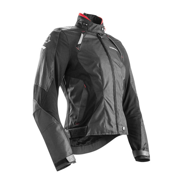 Acerbis Stinson Lady motorcycle Jacket black