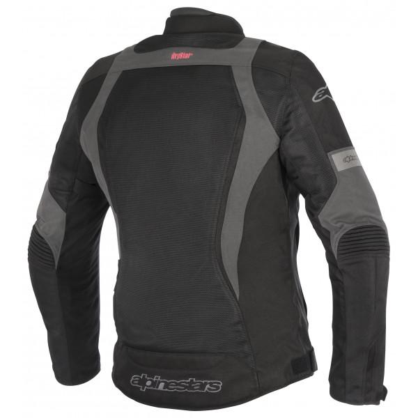 Giacca moto donna Alpinestars Stella Amok Drystar nero grigio scuro