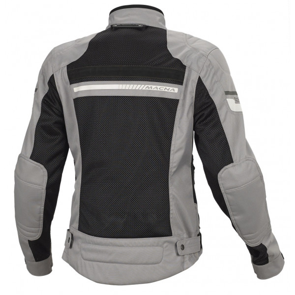 Macna woman summer jacket Rush grey black
