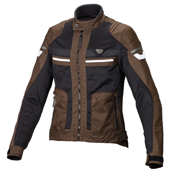 Macna woman summer jacket Rush brown black