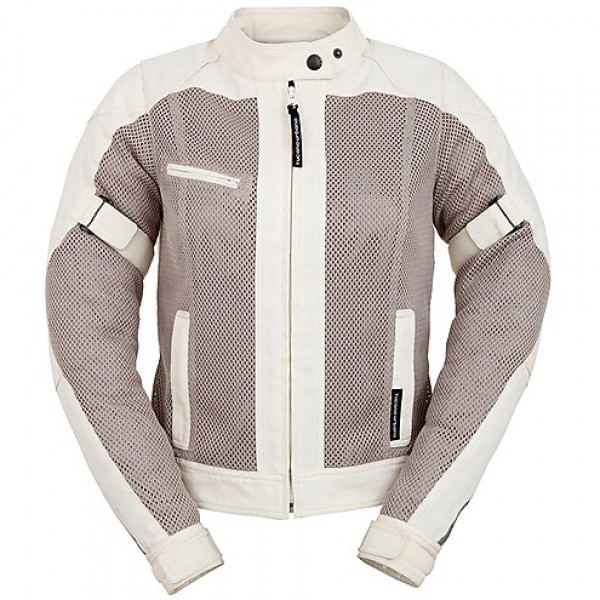 Tucano Urbano woman summer jacket Reloaded AB Lady perforated white