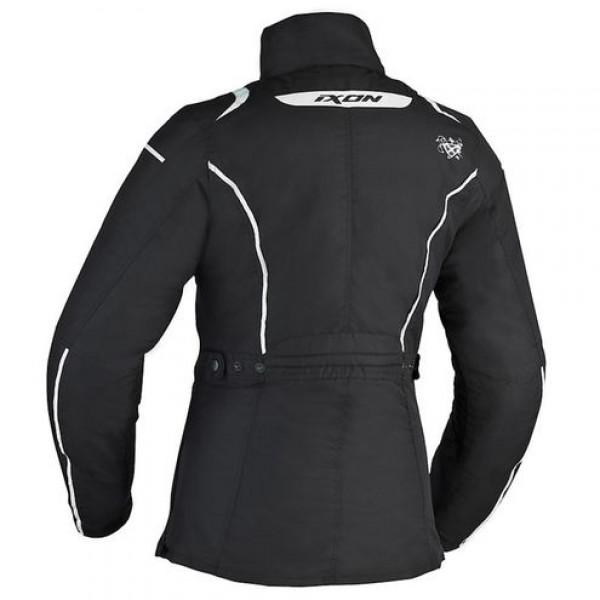 Ixon Comtesse motorcycle Lady Jacket Black White