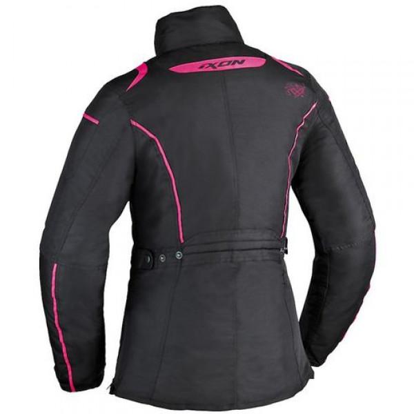 Ixon Comtesse motorcycle Lady Jacket Black Pink