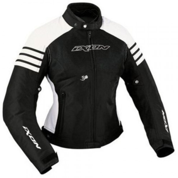Ixon Electra Woman motorcycle Jacket Black White