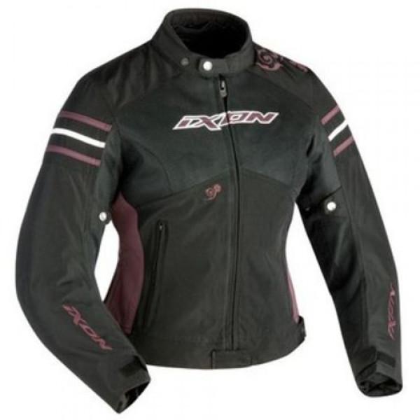 Ixon Electra Woman motorcycle Jacket Black Violet